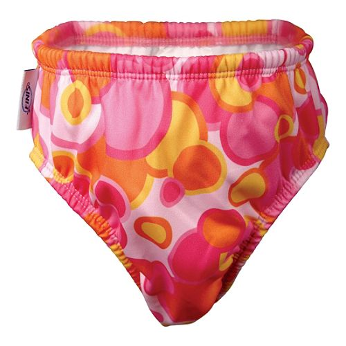 Finis Girl's Swim Diaper Pink Bubble 4T $ 9.99