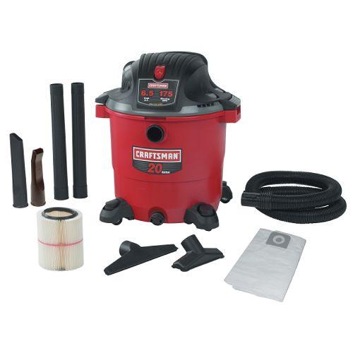 Craftsman 20 gal. Wet-Dry Vac, 6.5 Peak hp - 17762 $ 113.99