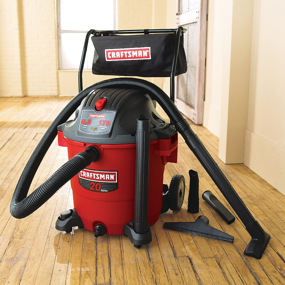 craftsman 9 gallon wet dry vac manual