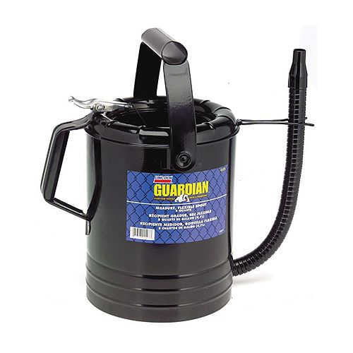 Lincoln Lubrication 4 Quart Flexible Spout Measuring Can - LING524