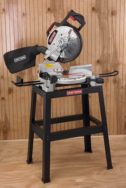 Sears Craftsman 10 In Compound Miter Saw With Stand Power