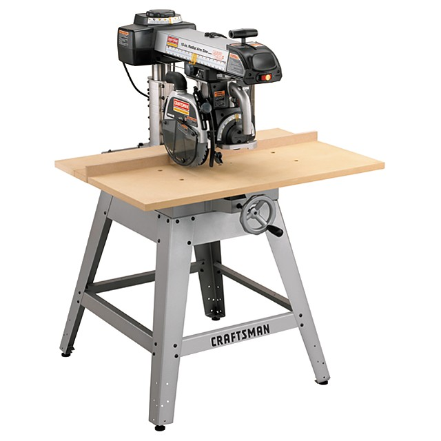 Sears Craftsman Professional Laser Trac 10 In Radial Arm