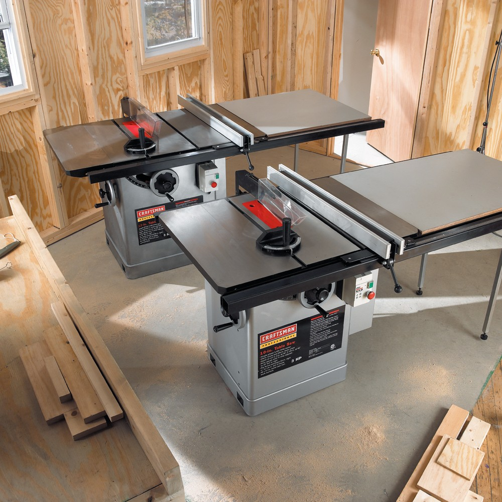 Sears Craftsman 10 In Table Saw Storage Cabinet Power Tools Building