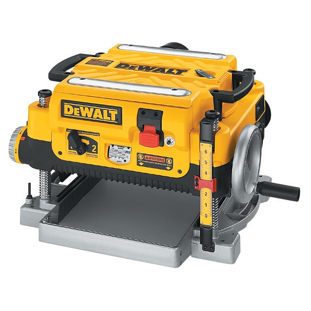 dewalt 13 in planer 13 in 3 knife 2 speed thickness planer with a 15mp ...