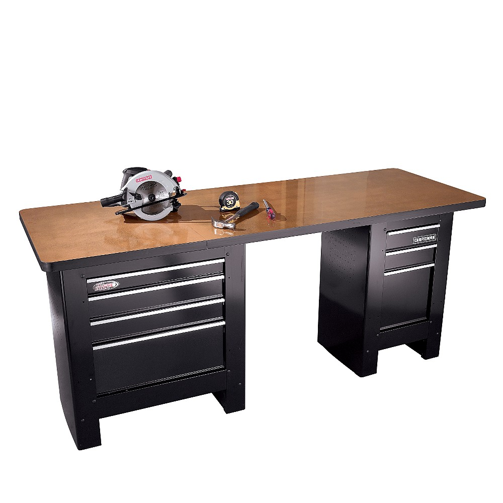 Garage organization products from sears by craftsman for Craftsman workshop