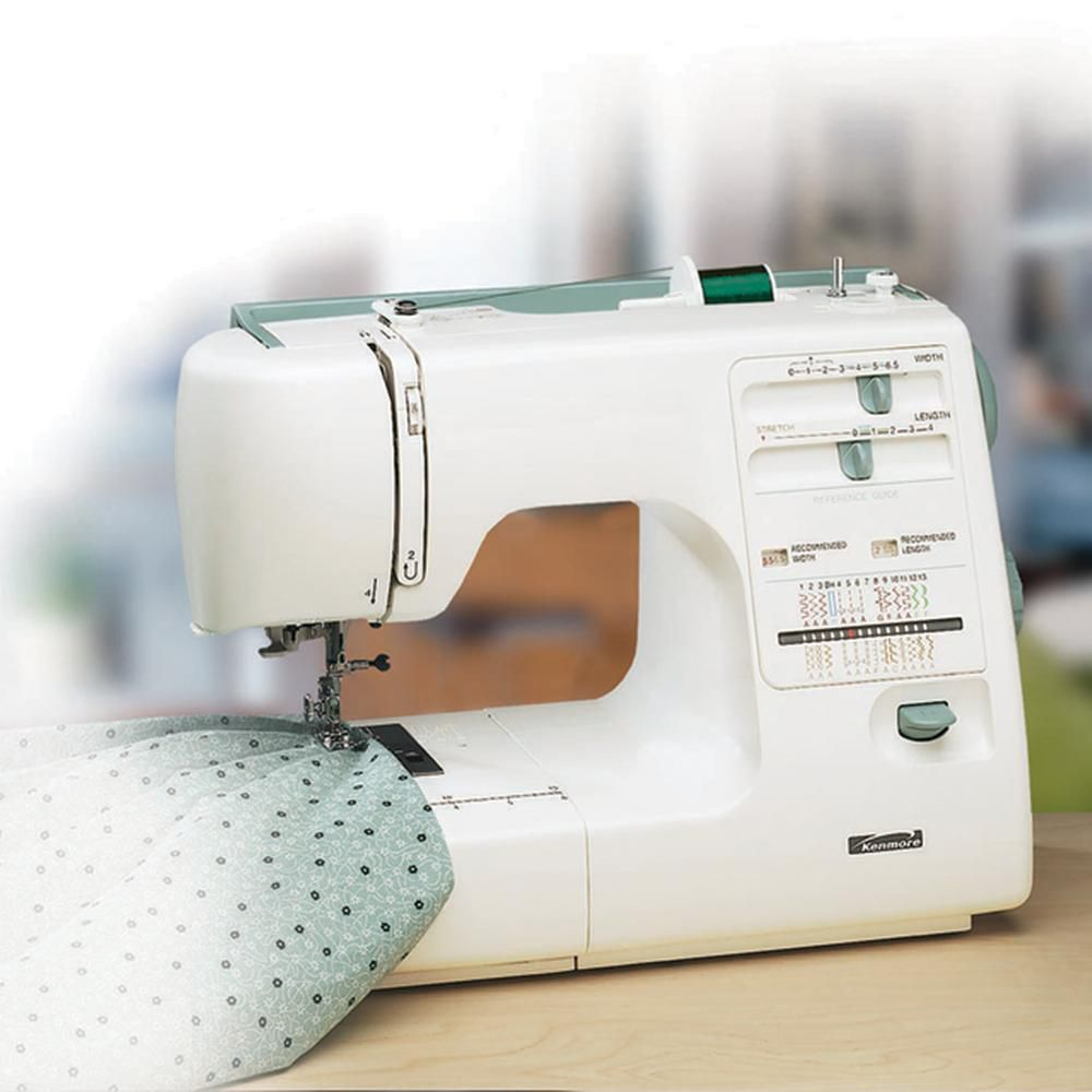 kenmore sewing machine  manual home improvement
