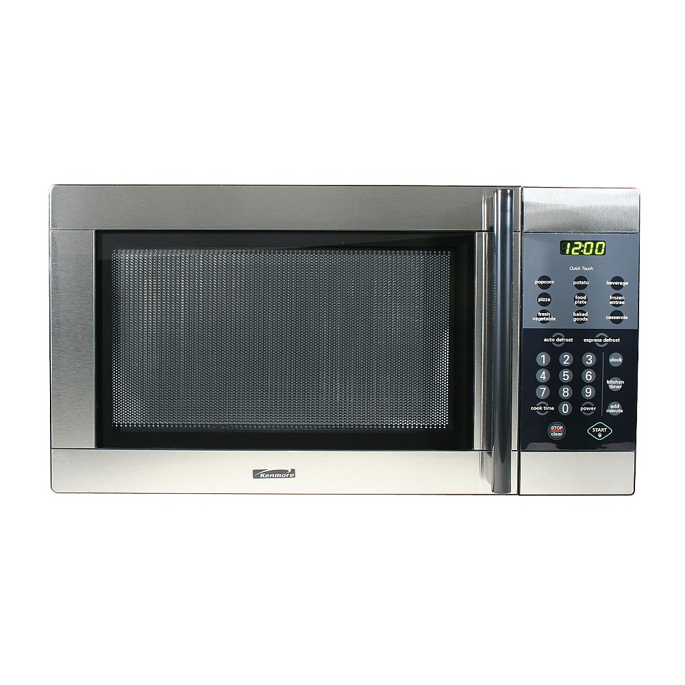 Sears Kenmore Stainless Steel Countertop Microwave Cooking