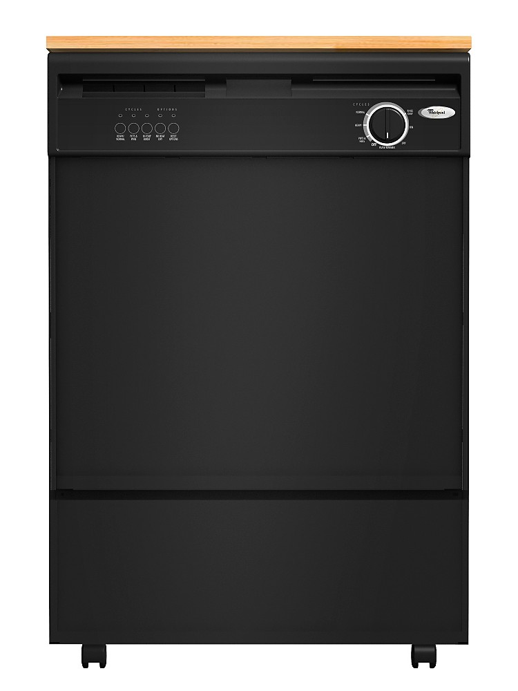 Sears Kenmore Portable Dishwasher Stainless Interior