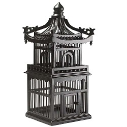 Klaussner Bird Cage :  klaussner home accent bird cages cage