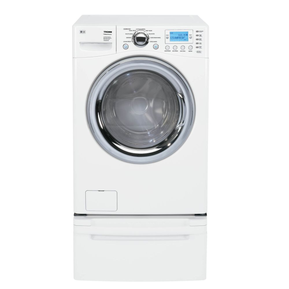 3.5 CuF Front Load Washer With A 6.7 CuFt Front