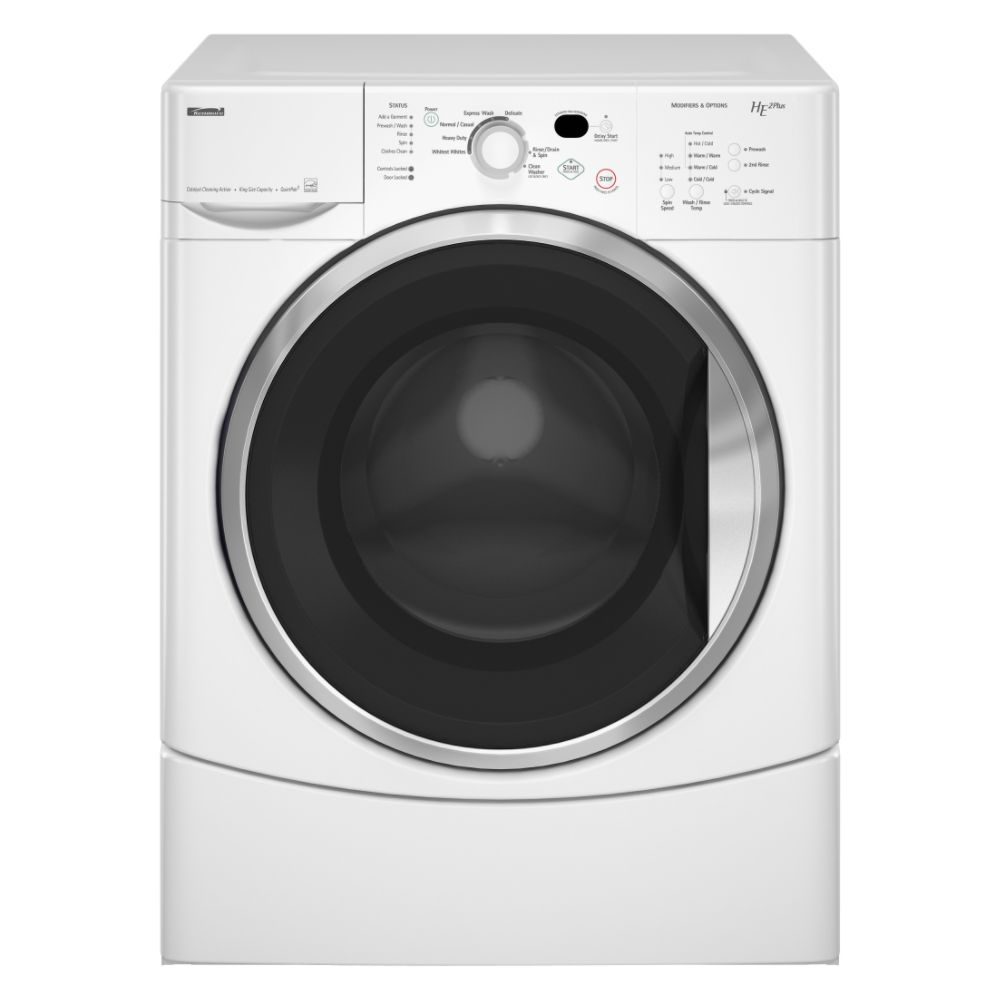 Kenmore HE2 Plus Front Load Super Capacity Washer 4753 Reviews