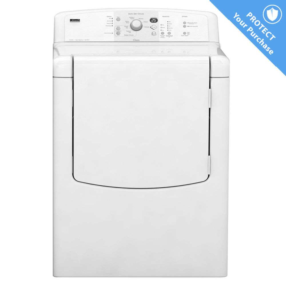 How to Troubleshoot a Kenmore Elite HE3 Dryer | eHow.com
