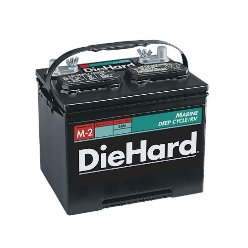 DieHard Marine Deep Cycle/RV Battery, Group Size 24M $ 69.99
