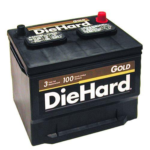 DieHard Gold North (with exchange) $ 89.99