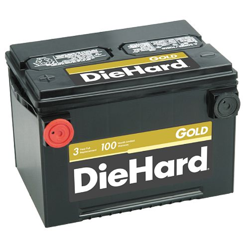 DieHard Gold South (with exchange) $ 104.99