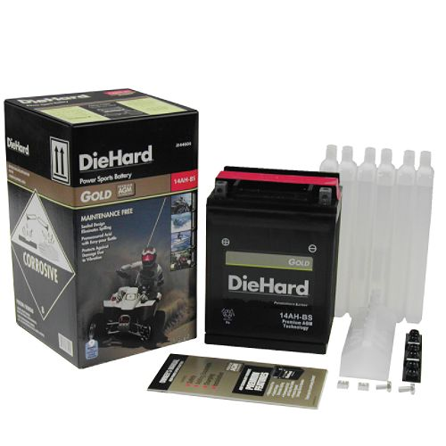 DieHard Gold PowerSport Battery 14AH-BS (with exchange) $ 83.69