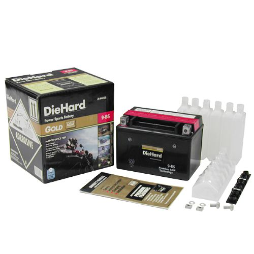 DieHard Gold PowerSport Battery 9-BS (with exchange) $ 62.99
