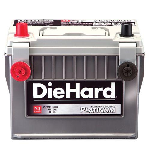 DieHard Automotive Battery, Platinum P-3 - Group Size 75/86DT (with exchange) $ 189.99