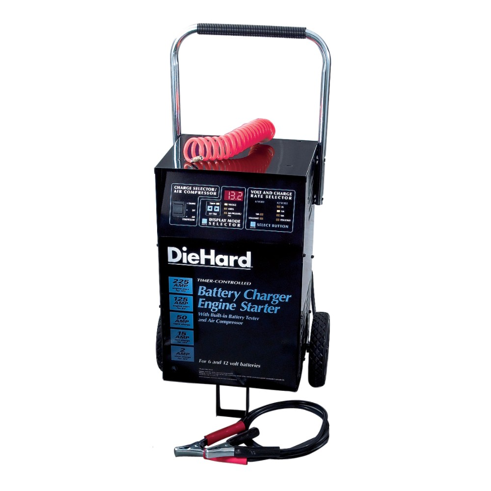 Car Battery Charger from Sears by DieHard, ICP & Campbell Batteries ...