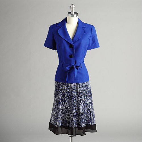 Studio 1 2PC Short Sleeve Jacket and Skirt $ 39.99