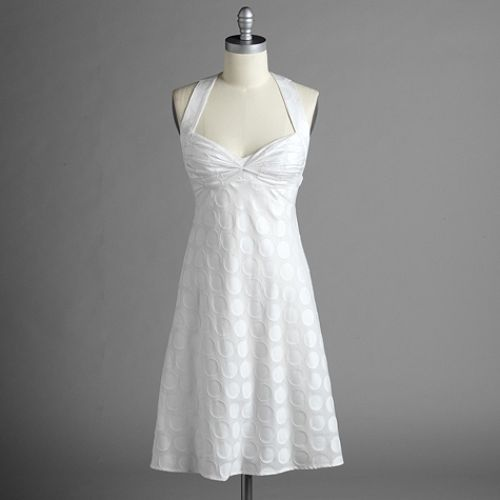 Studio 1 Sleeveless Dress with Eyelet Bodice $ 39.99