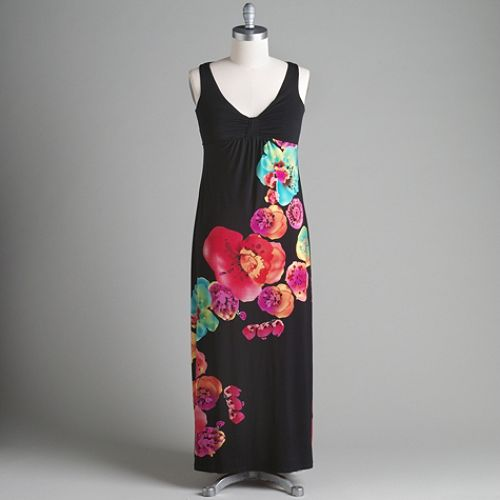 Studio 1 Floral Print Sleeveless Dress $ 49.99