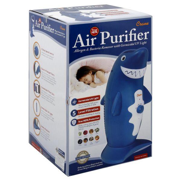 Crane Air Purifier, Shark, 1 purifier