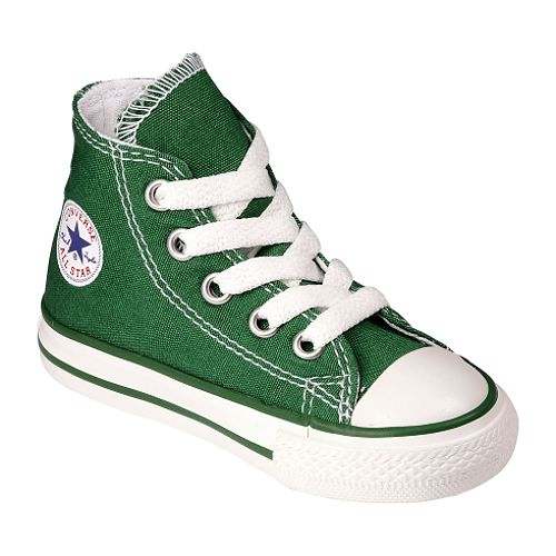 Converse Toddler Unisex Chuck Taylor All Star Hi - Green $ 19.99