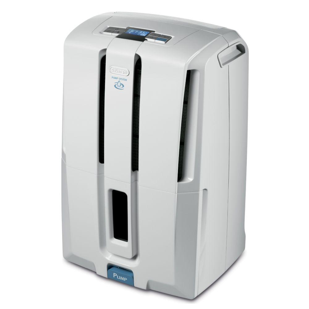 DeLONGHI 45-Pint Dehumidifier with Pump