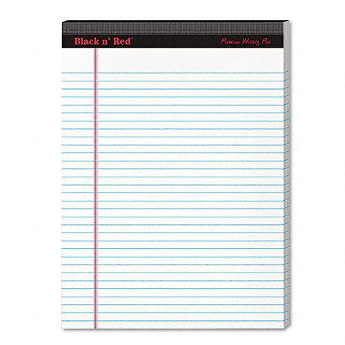 Black n' Red Writing Pad, White, Letter, Two 100-Sheet Pads $ 6.79