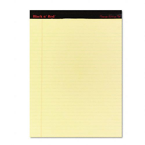 Black n' Red Writing Pad, Yellow, Letter, Two 100-Sheet Pads $ 6.79