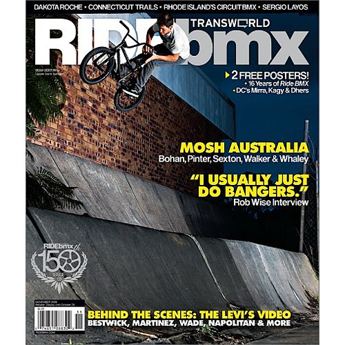 Ride BMX Magazine $ 14.99