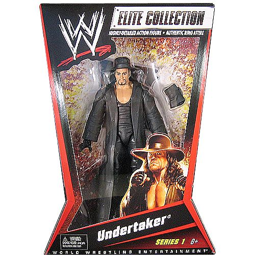 WWE Wrestling Undertaker - Elite 1 Toy Wrestling Action Figure $ 17.99