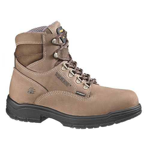 Wolverine Men's Compressor 6' Slip Resistant Boot - Brown $ 114.99