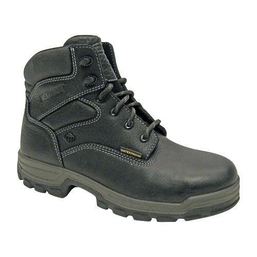 Wolverine Men's 6', Soft Toe Work Boot - Black - 84933 $ 69.99