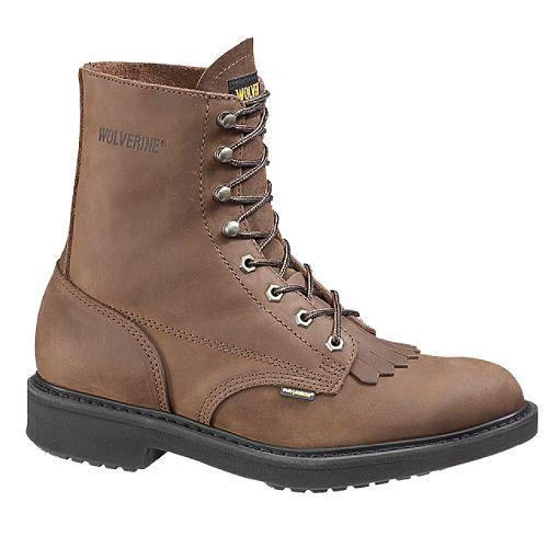 Wolverine Men's DuraShock 8' Lacer Boot - Brown $ 99.99