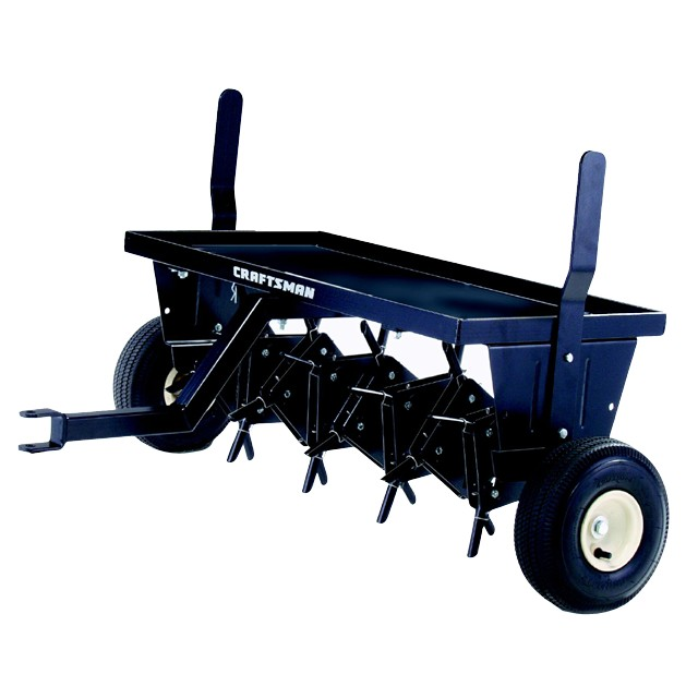 Drum aerator -spike vs Core Aerator plug -- Lawn, Turf, and Grass