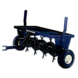 Lawn, Turf, and Grass: Drum-aerator-spike-vs-Core-Aerator-plug