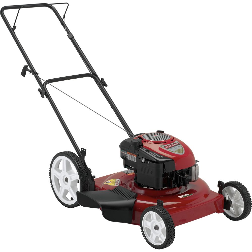 Sears on Actual Search Result Push Mowers To