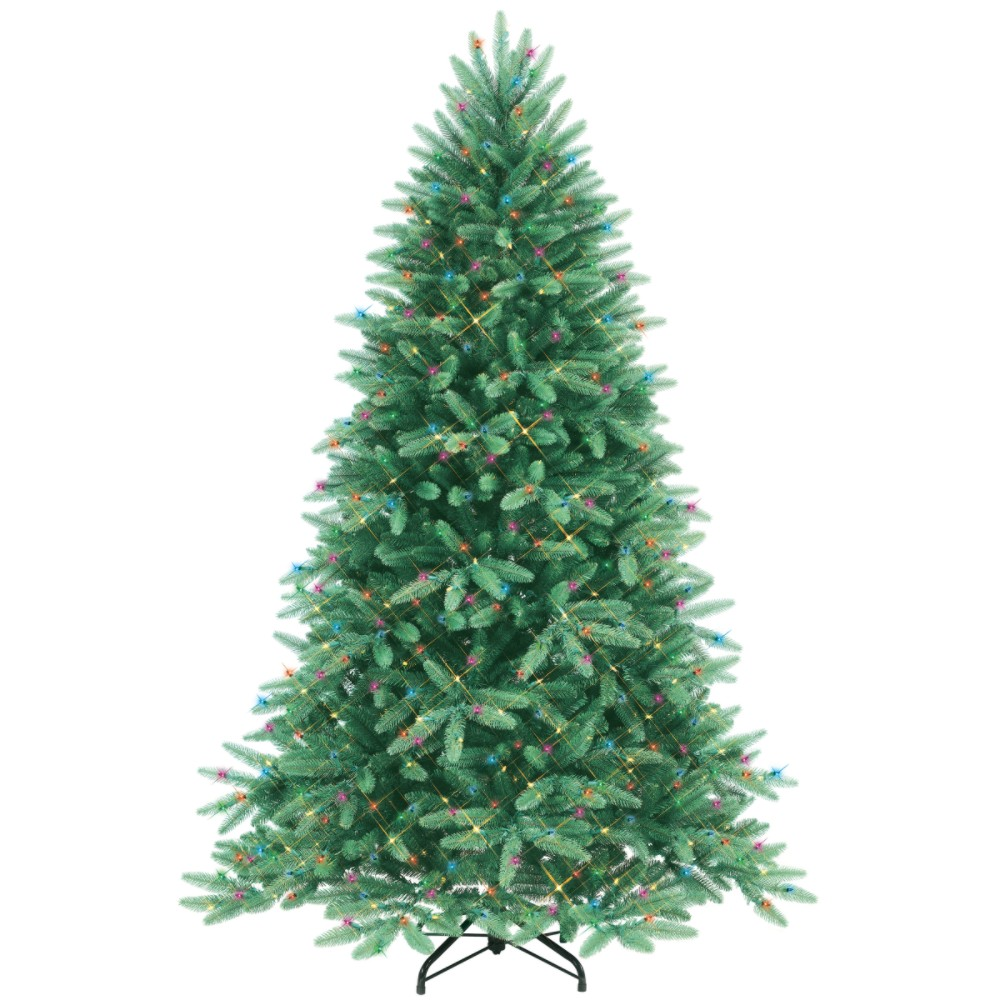 Sears   GE 6 12 Foot Pre Lit Grand Fir Christmas Tree    12499 03Pd7g7D