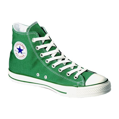 Converse Unisex Chuck Taylor All Star Hi - Green $ 34.99