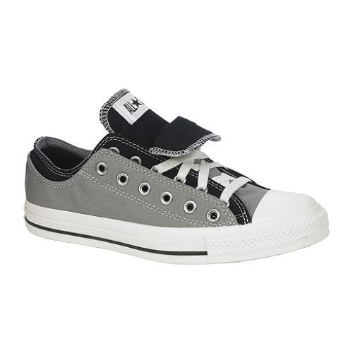 Converse Unisex Chuck Taylor All Star Double Upper Ox - Gray, Black $ 39.99