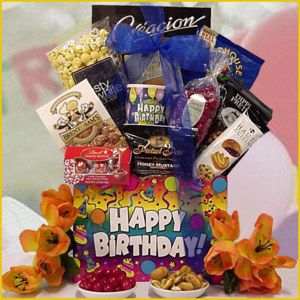 Great Arrivals Happy Birthday Gift Basket