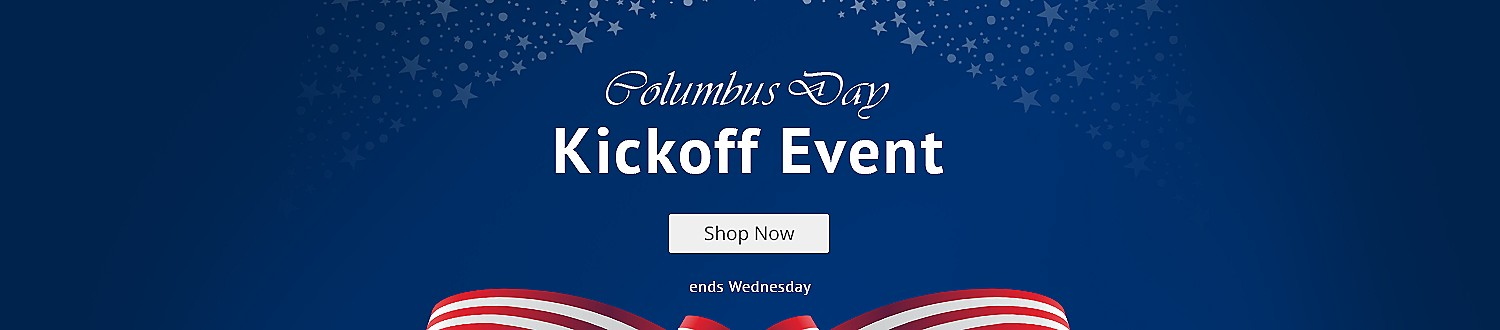 Columbus Day Kickoff Event