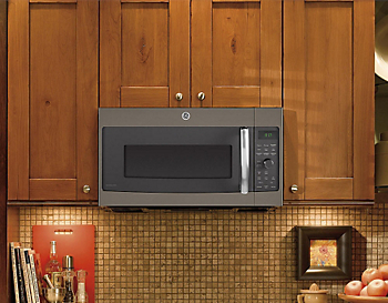 Ge Countertop Microwave Slate : Will GE Slate microwaves look good in my kitchen?