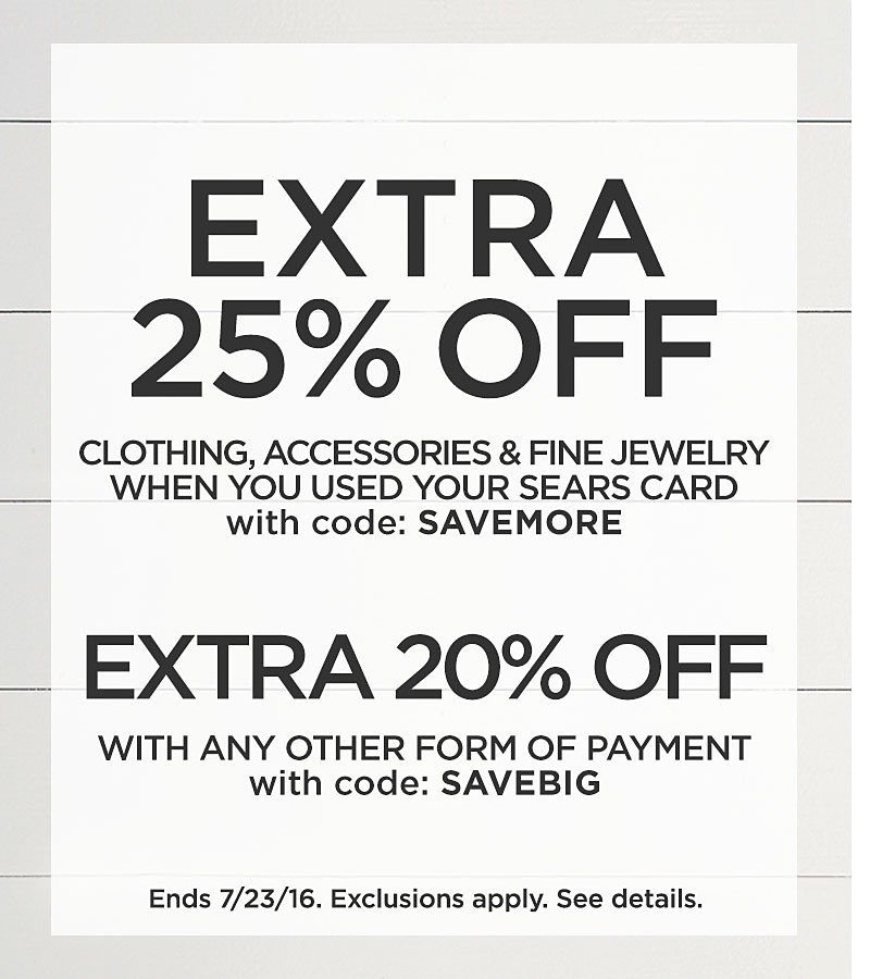 Extra 25% Off Clothing
