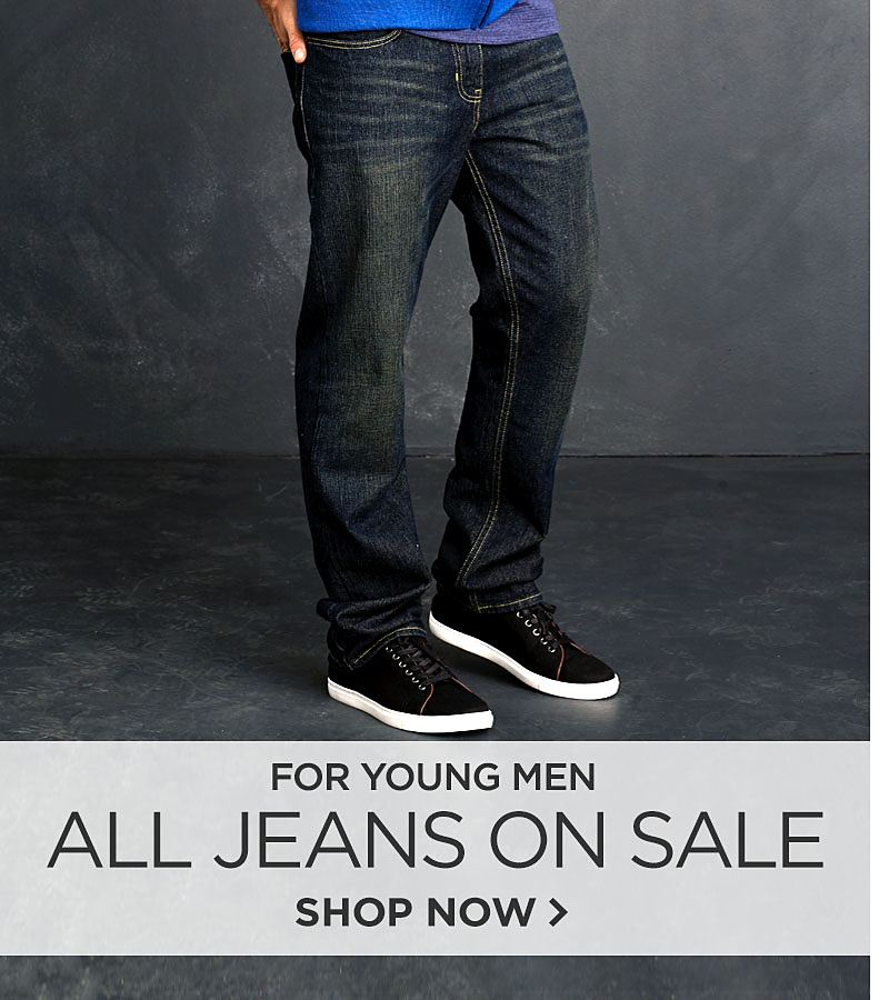All Jeans on Sale for Young Men
