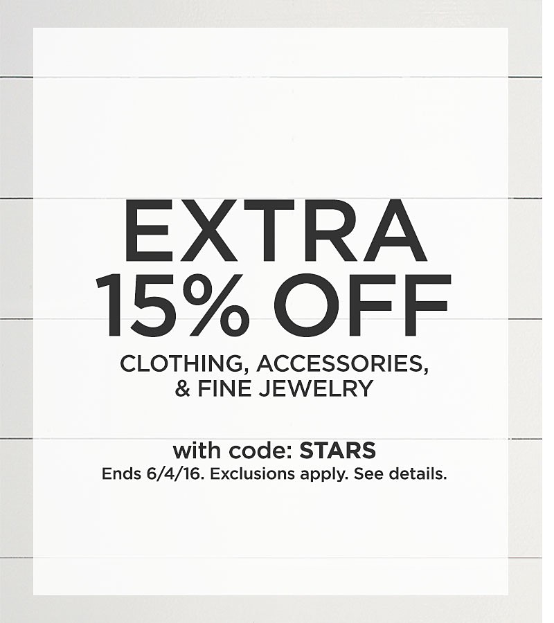 Extra 15% Off