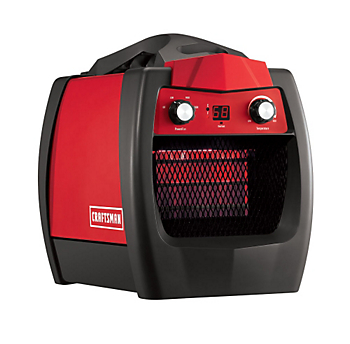 craftsman is introducing the first infrared portable heater designed