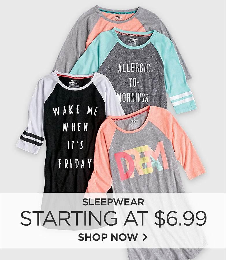 Ropa de dormir